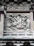 加茂神社 本殿彫刻 左