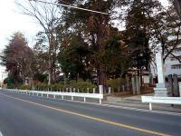 加茂神社と中山道