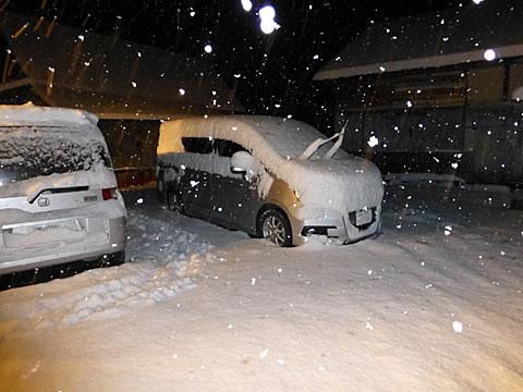 13 11/28 積雪