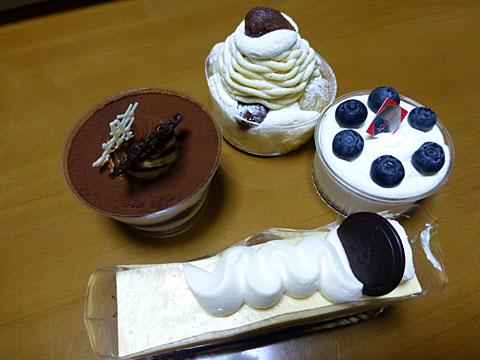 13 12/1 六花亭ケーキ