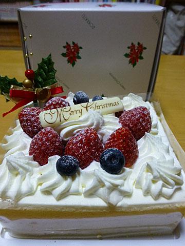 13 12/24 六花亭のケーキ