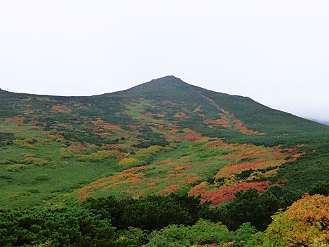 13 9/16 当麻岳斜面