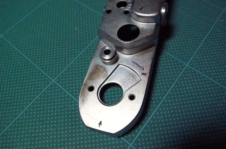 Minolta35 modelII メッキはがれ(2)
