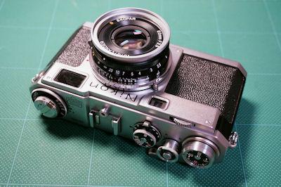 Nikon S2 + S SKOPAR 50mmF2.5 フードなし
