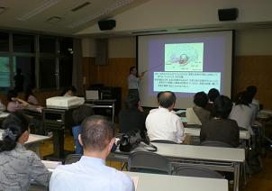 山田副院長から丁寧な講演を頂きました・・・