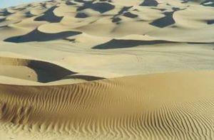 リビアの砂漠