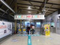 台湾鉄路沙崙站改札130205