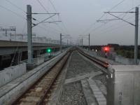 台湾新幹線に並行する台湾鉄路沙崙線130205