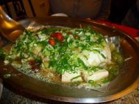 台南阿美飯店の清蒸鱈魚130205