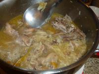 台南阿美飯店の鴨スープ130205
