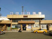 朝の台湾鉄路永康站130206