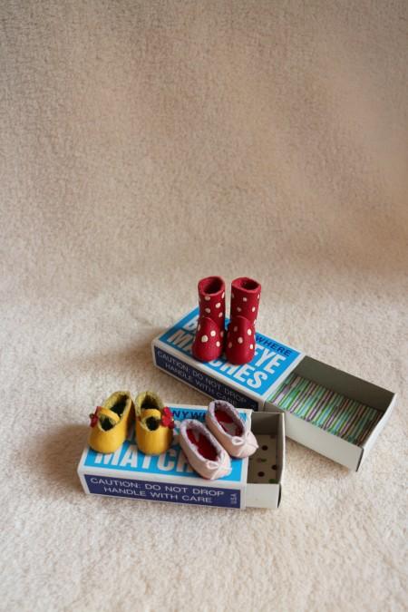 まりくん革靴③