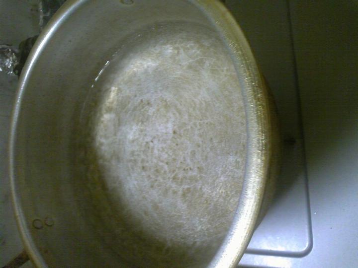 03チャーシュー お湯沸騰させる