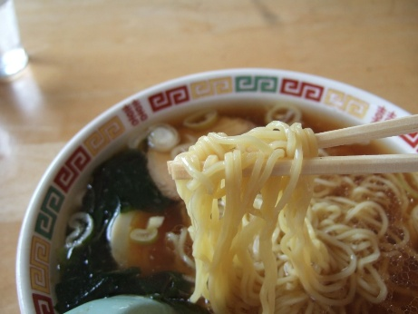 中細ストレート麺