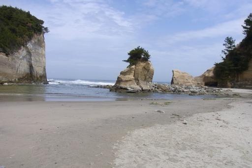 断崖絶壁の壮観な姿