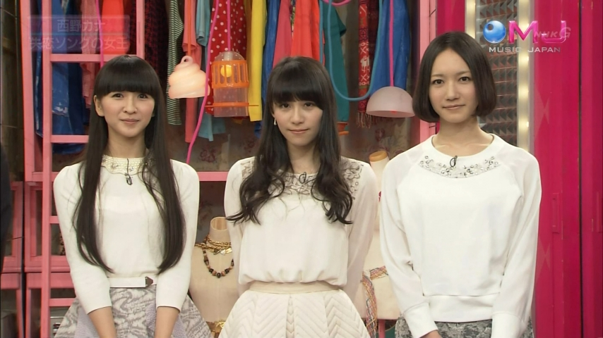 「MUSIC JAPAN」Perfume