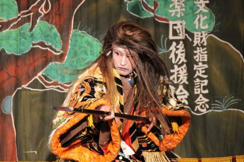羽佐竹神楽団 滝夜叉姫7