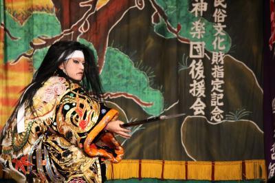 羽佐竹神楽団 滝夜叉姫8