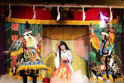 羽佐竹神楽団 滝夜叉姫10