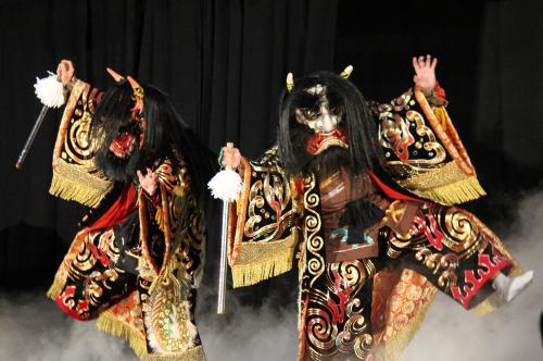 郷之崎神楽団 大江山6