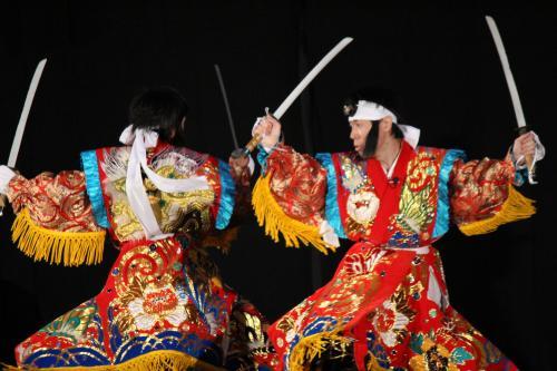 郷之崎神楽団 大江山10