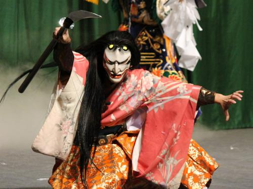 八重西神楽団 滝夜叉姫4