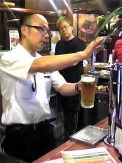 アサヒビール講習 in 本店