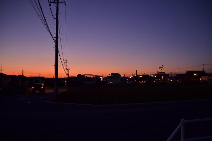 イブの夕日