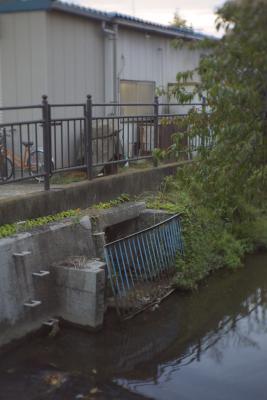 二ヶ領の取水口(井田堀)