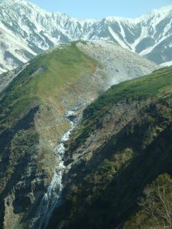 冠雪の立山