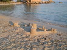 $タンポポライオンのブログ-砂の城