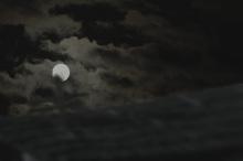 $タンポポライオンのブログ-子供の空 月