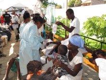 $タンポポライオンのブログ-ハイチ コレラ