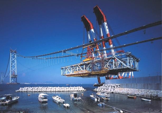 2014-11-1明石海峡大橋の補剛トラス