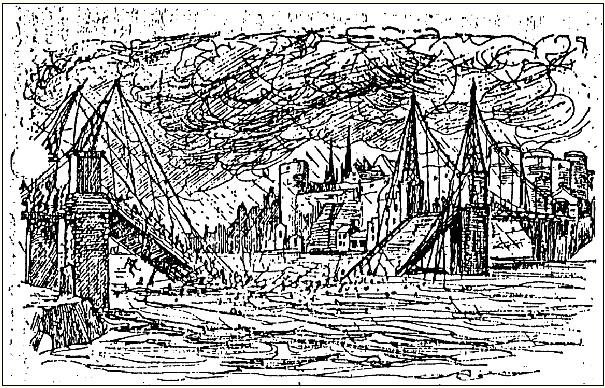 2014-11-4フランス・アンジェールの橋の崩落1850年