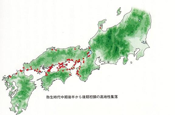2014-11-24高地性集落分布図1