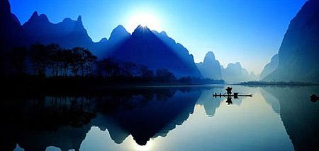 桂林の山水甲天下