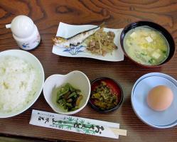 塚野鉱泉朝食