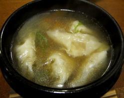 湖月スープ餃子