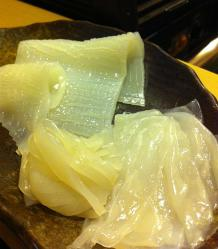 いろは寿司のイカ