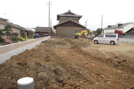飯田邸 擁壁2
