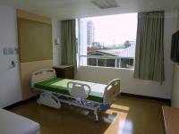 ガモン病院の病室