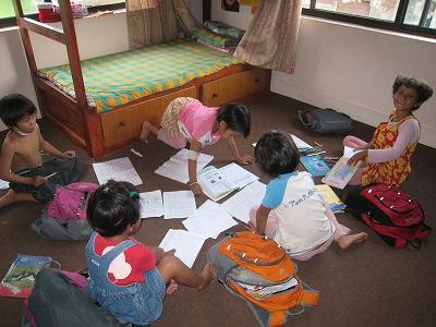宿題女子チーム