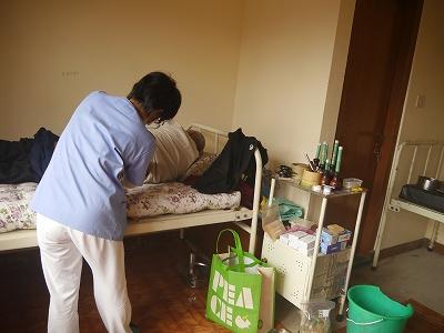 老人ホームでの治療3
