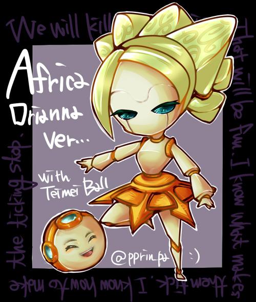Africa(Orianna ver)ブログ用