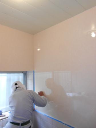 new_浴室施工中