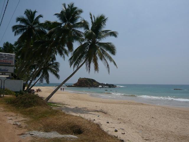 美しいスリランカ南部海岸