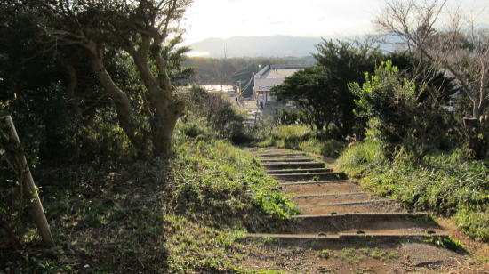 この階段を上がると