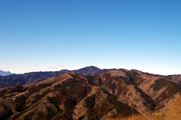宝登山頂上1
