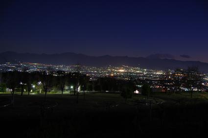 山梨県 夜景